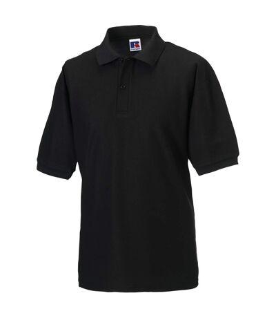 Russell - Polo à manches courtes - Homme (Noir) - UTBC566