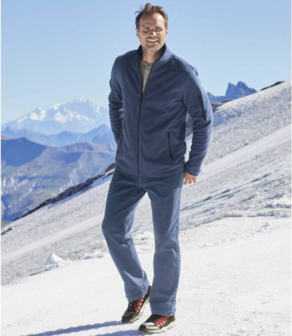 Stretch-Jeans Komfort mit Regular-Schnitt Atlas For Men