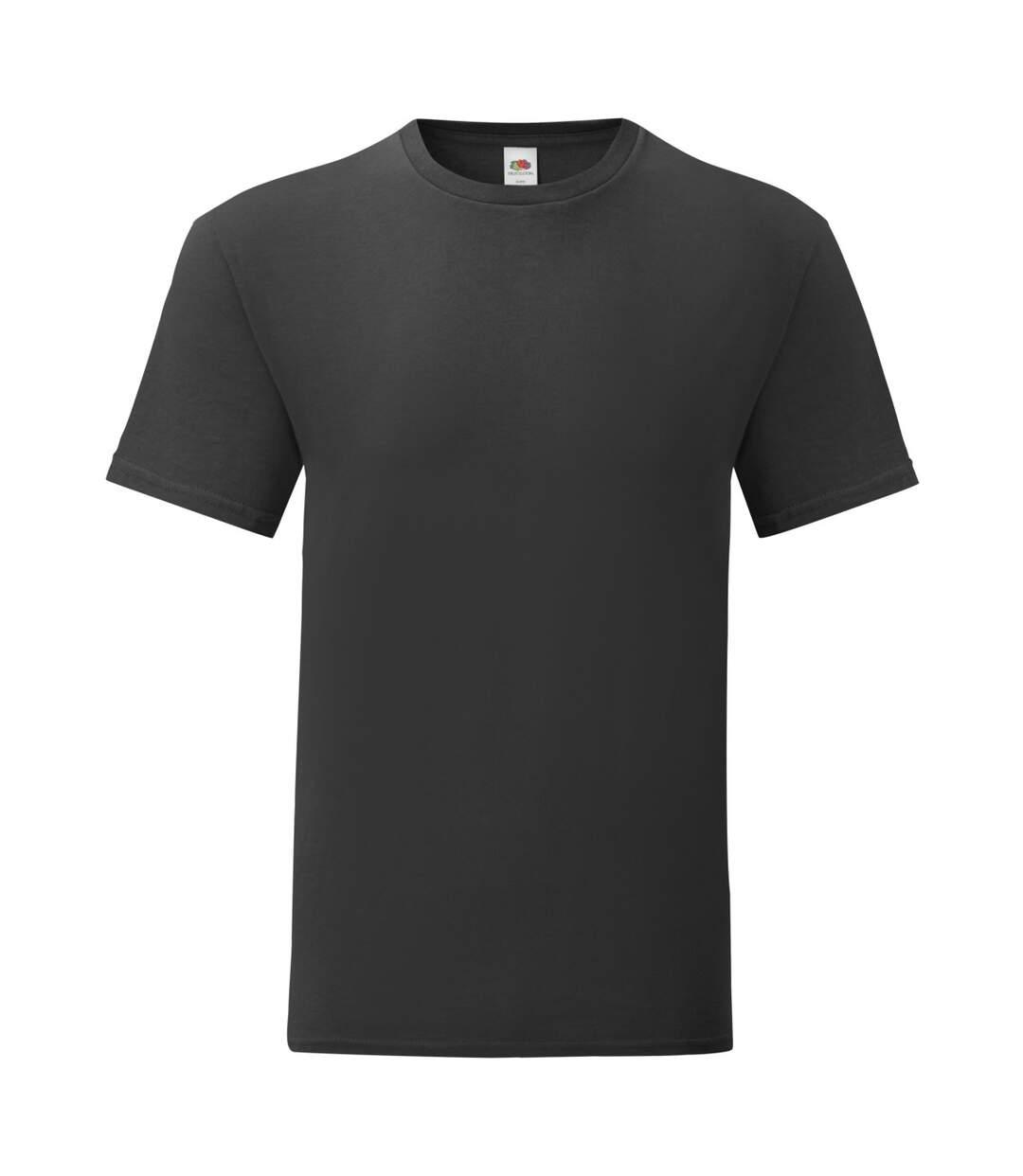 Fruit Of The Loom - T-shirt ICONIC - Hommes (Noir) - UTPC3389