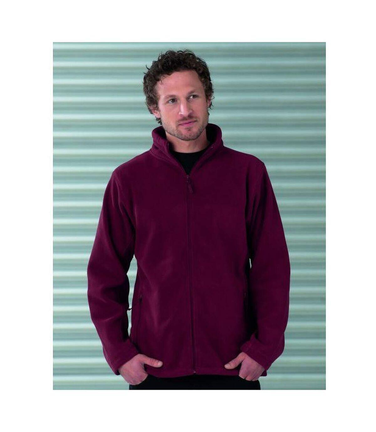 Russell Jerzees Colours - Veste polaire à fermeture zippée - Homme (Rouge) - UTBC575