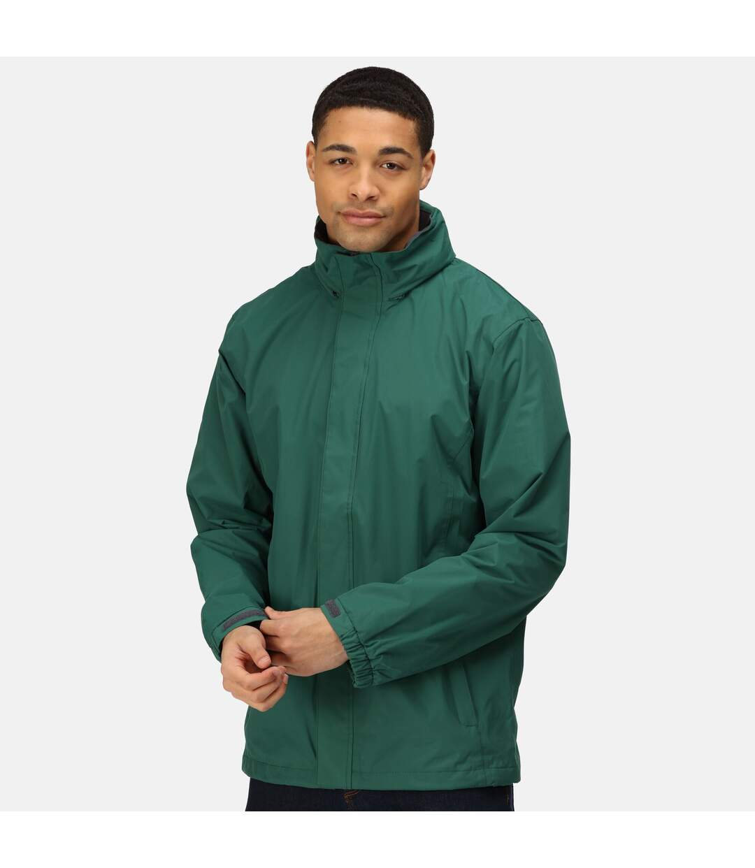 Regatta Mens Standout Ardmore Jacket (Waterproof & Windproof) (Bottle Green/Seal Grey) - UTBC3041