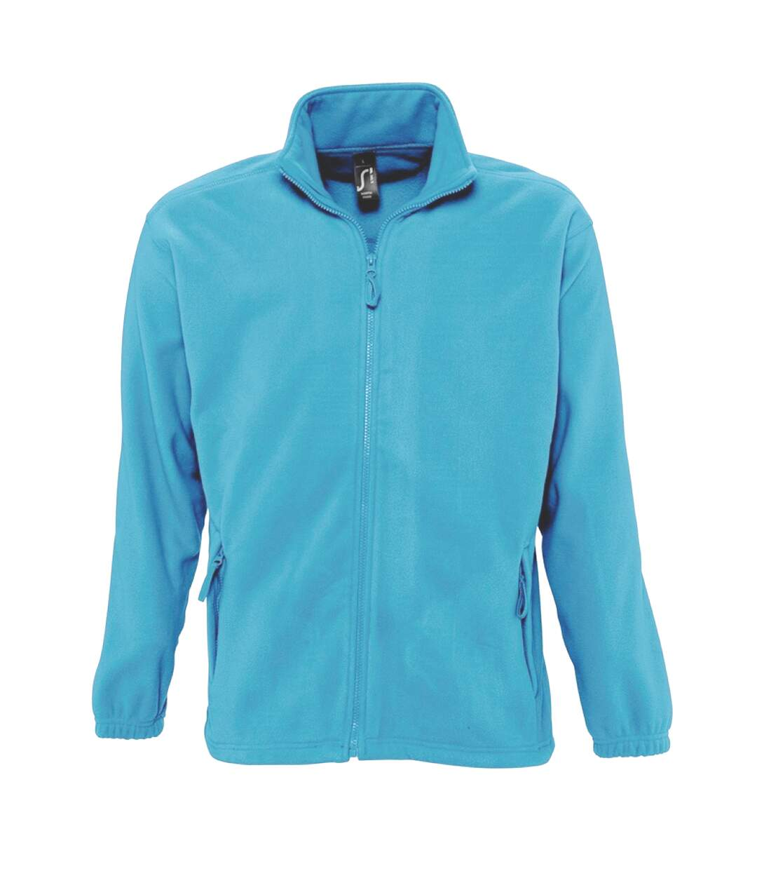 SOLS Mens North Full Zip Outdoor Fleece Jacket (Charcoal) - UTPC343