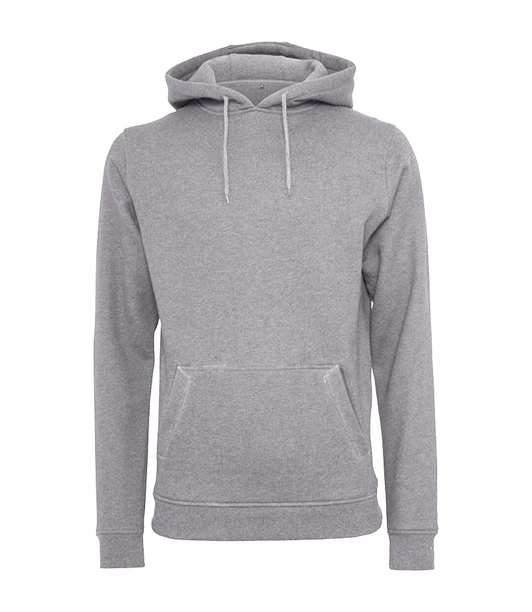Build Your Brand Mens Heavy Pullover Hoodie (Olive) - UTRW5681