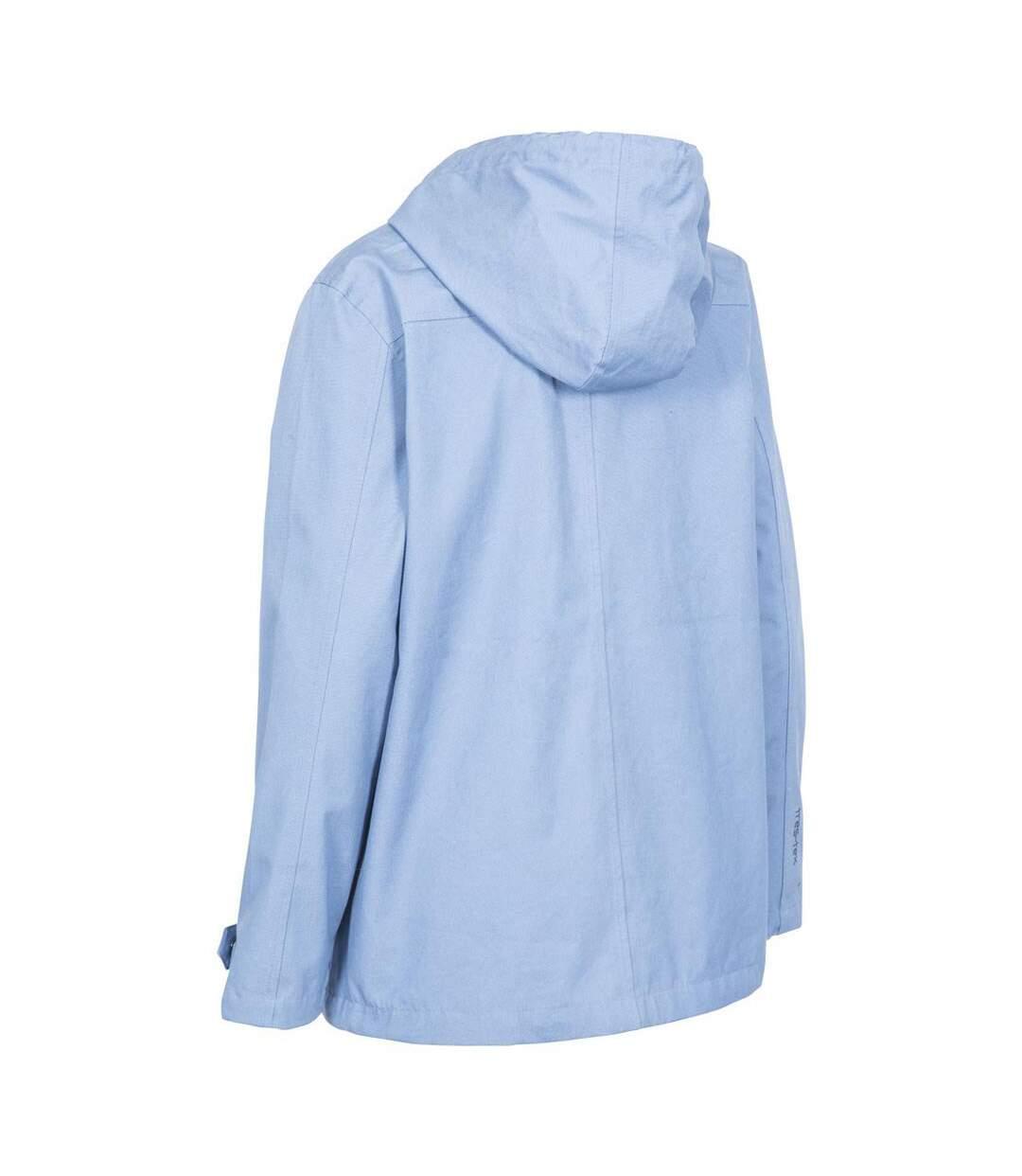 Trespass Womens/Ladies Seawater Waterproof Jacket (Denim Blue) - UTTP3314