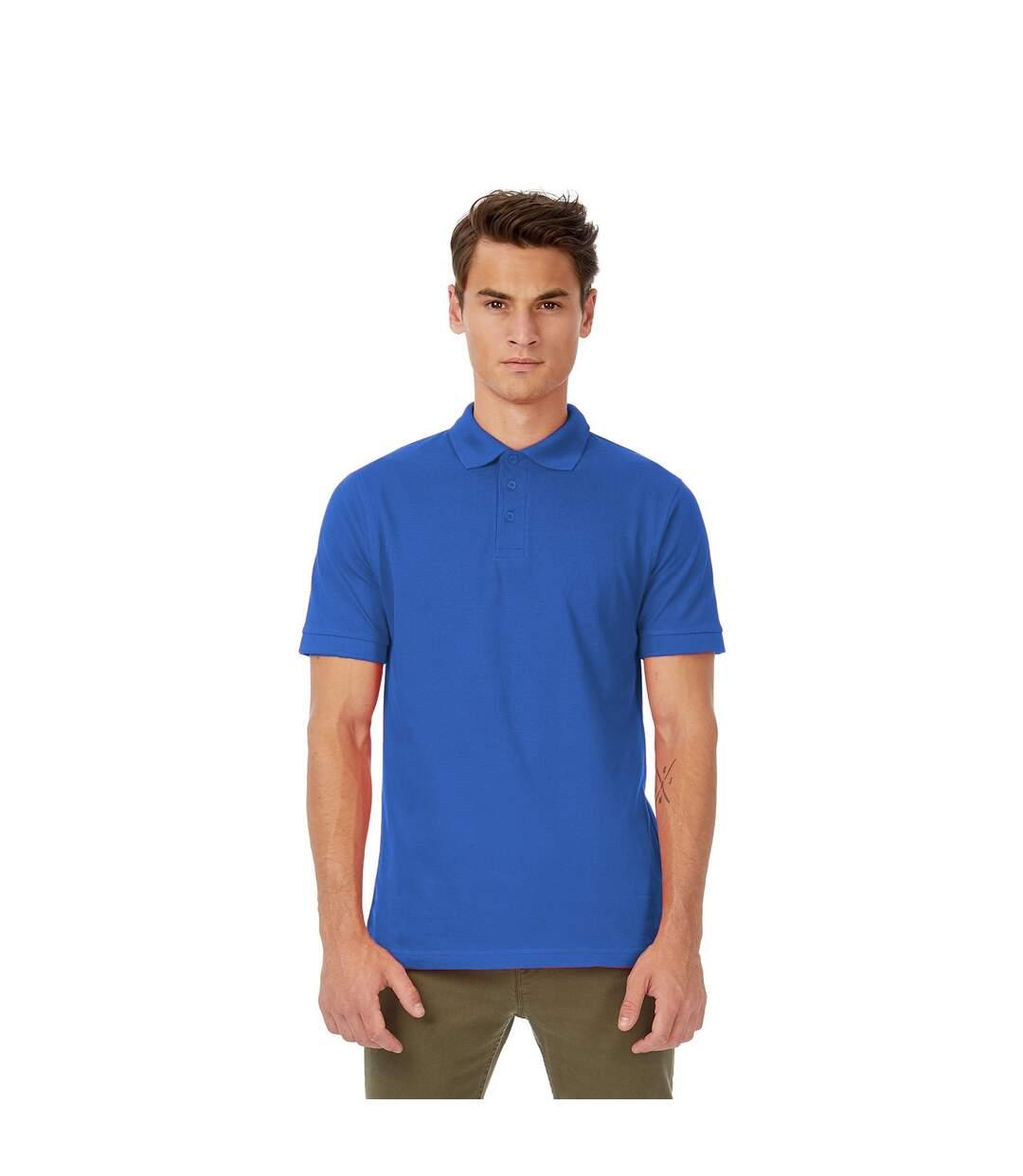 B&C Safran Mens Polo Shirt / Mens Short Sleeve Polo Shirts (Royal) - UTBC103