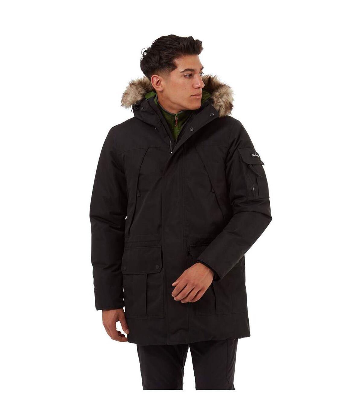 Craghoppers Mens Bishorn Waterproof Jacket (Black) - UTCG1261