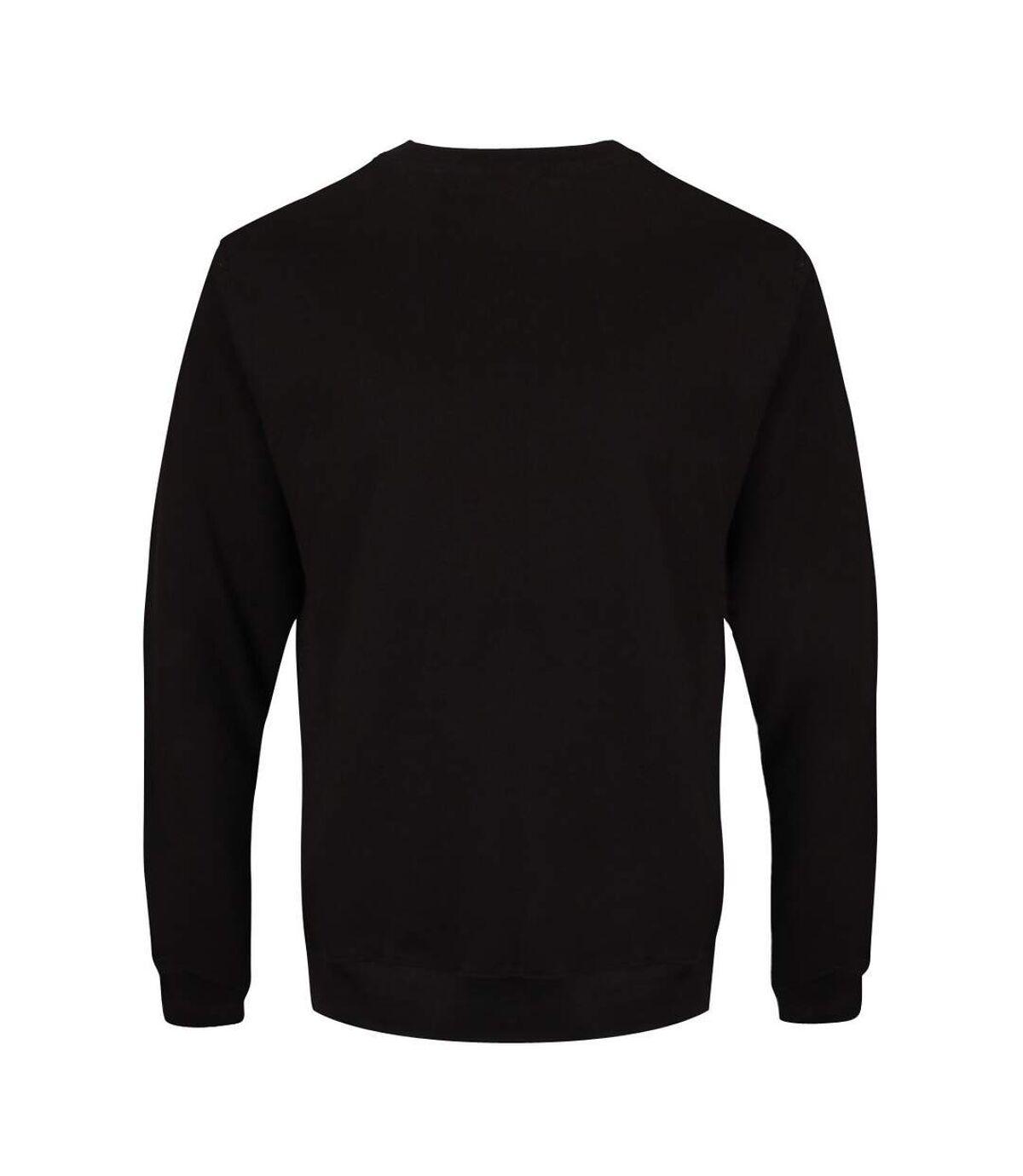 Grindstore Mens Grumpy Fuckers Club Sweatshirt (Black/White) - UTGR4961