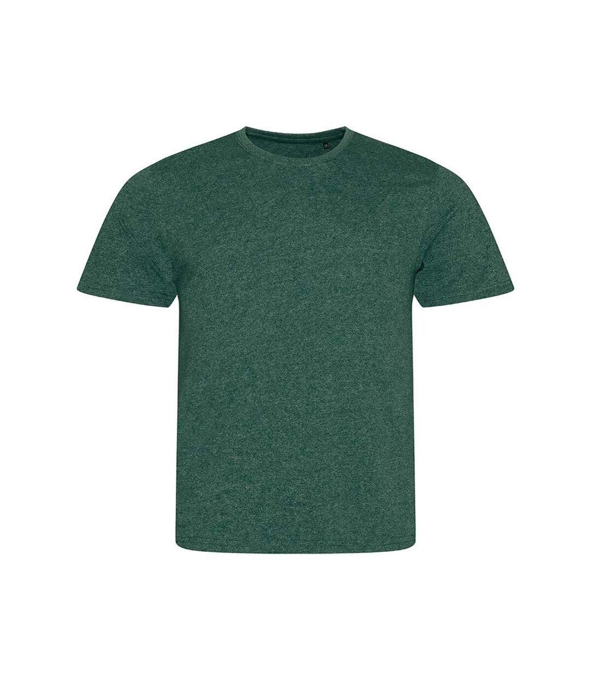 AWDis Mens Space Blend T Shirt (Space Green/White) - UTPC2897