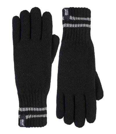 Mens Hi-Vis Reflective Thermal Knit Gloves S/M