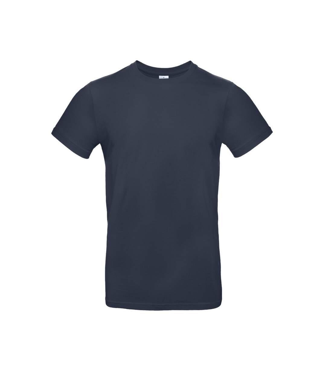 B&C Mens #E190 Tee (Navy Blue) - UTBC3911