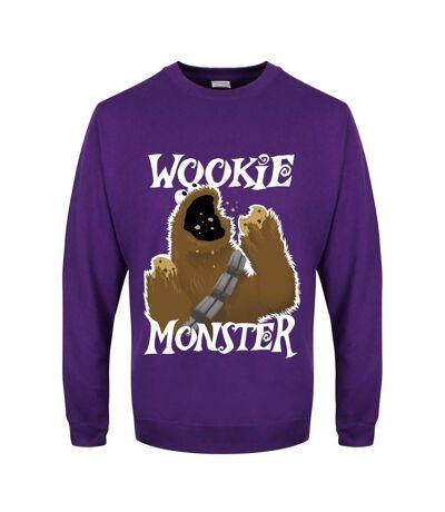 Grindstore Mens Wookie Monster Sweater (Purple) - UTGR1937