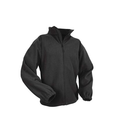 Result Mens Extreme Climate Stopper Water Repellent Fleece Breathable Jacket (Black) - UTBC847
