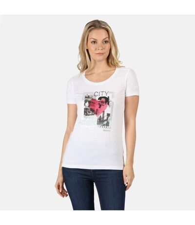 Regatta - T-shirt imprimé FILANDRA - Femmes (Jaune) - UTRG5064
