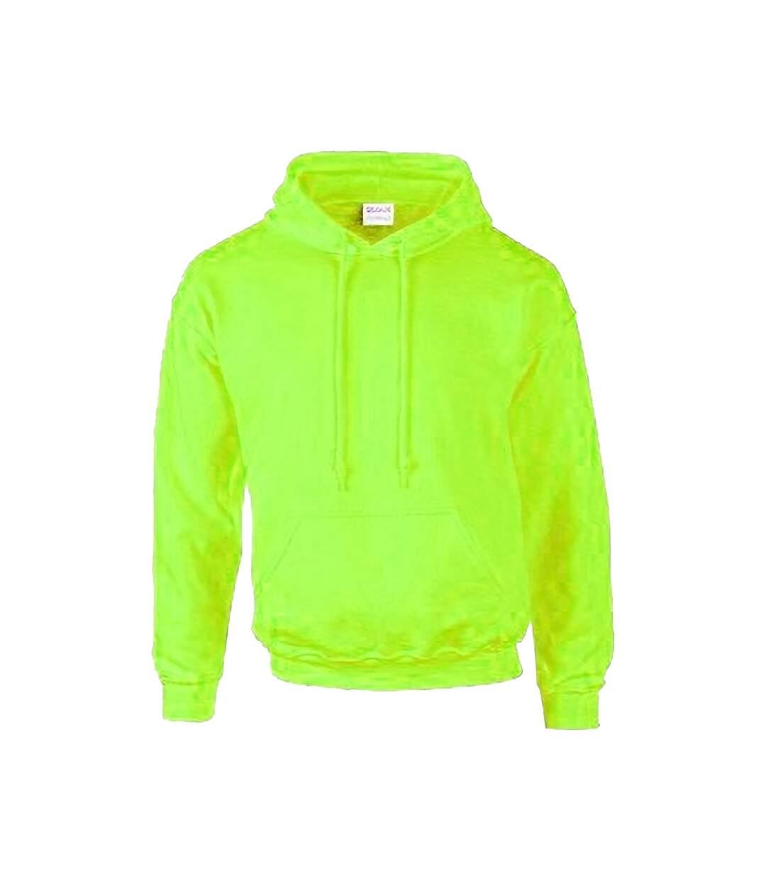 Gildan Heavyweight DryBlend Adult Unisex Hooded Sweatshirt Top / Hoodie (13 Colours) (White) - UTBC461