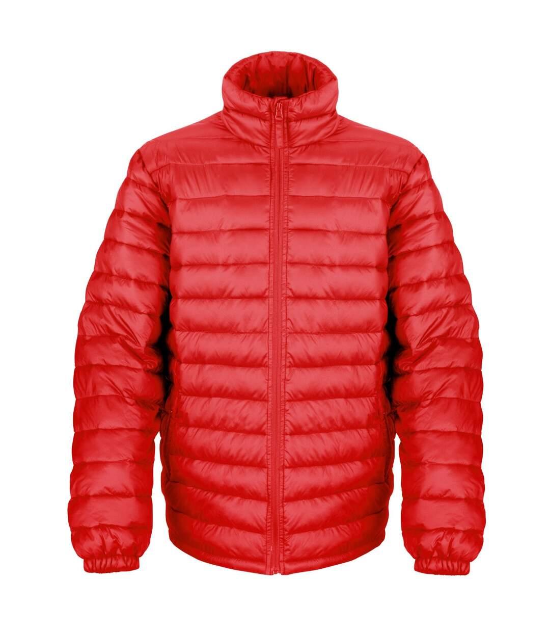 Result Mens Ice Bird Padded Winter Jacket (Water Repellent & Windproof) (Red) - UTBC2048
