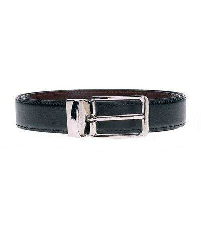 Duke Mens Charlie D555 Reversible Belt (Black/Brown) - UTDC116