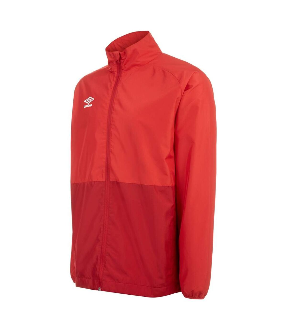 Umbro Mens Showerproof Training Jacket (Vermillion/Jester Red) - UTGD109
