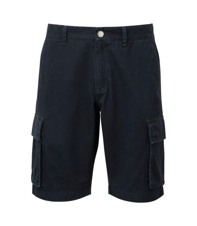Asquith & Fox Mens Cargo Shorts (Navy) - UTRW7678