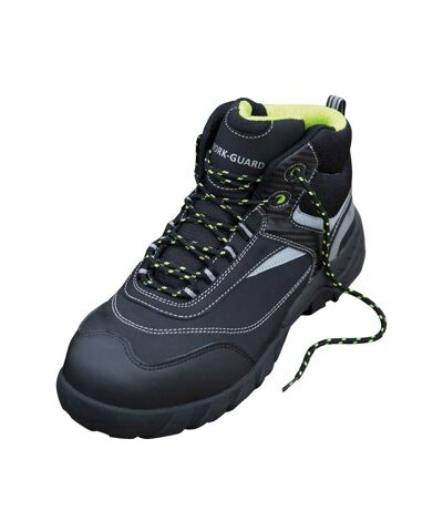 Result Workguard Mens Blackwatch Lace-Up Safety Boots (Black/Silver) - UTBC3862