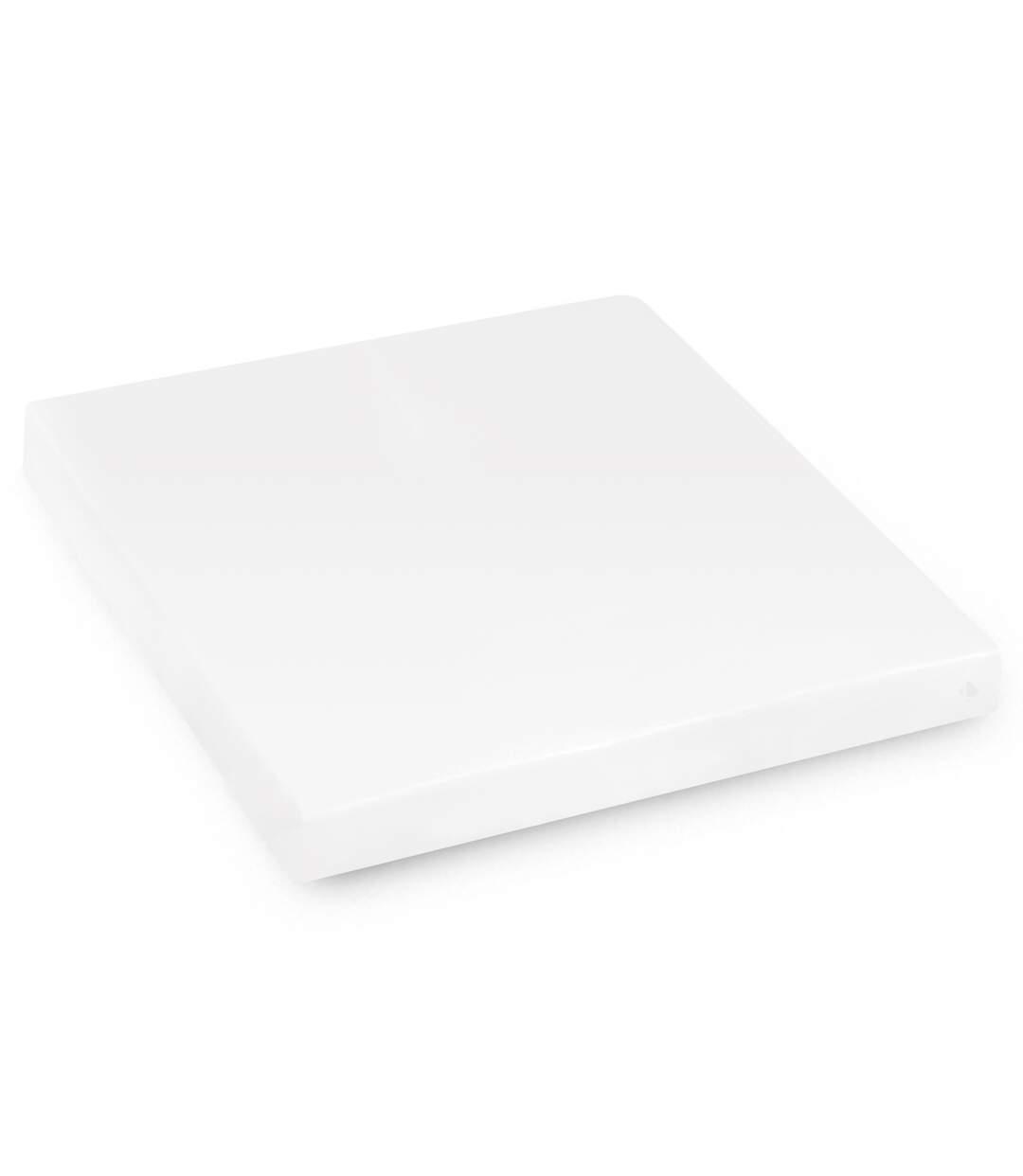 Protège matelas imperméable 210x200 cm bonnet 30cm ARNON molleton 100% coton contrecollé polyuréthane
