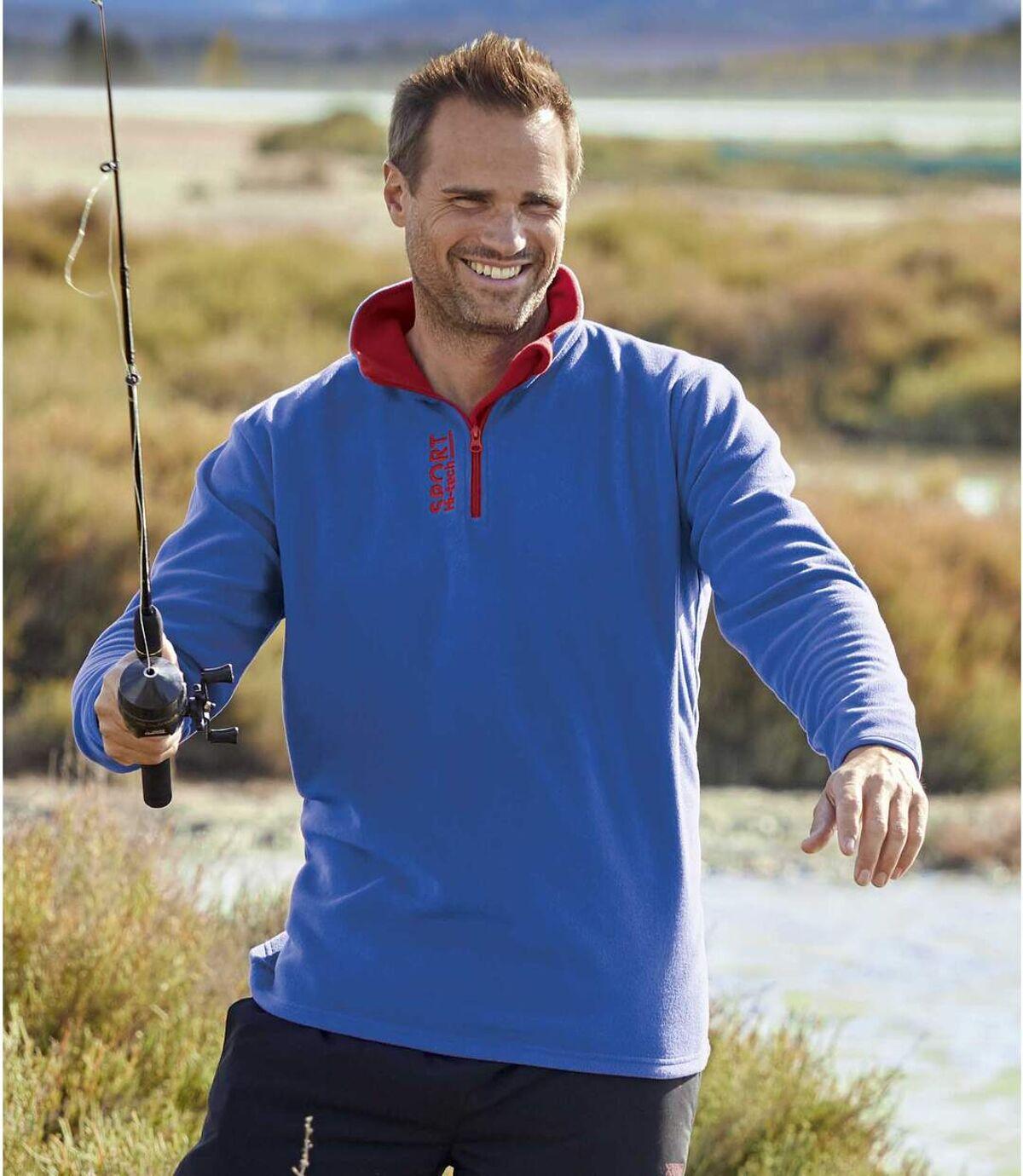 2 darabos polár sport pulóver szett Atlas For Men