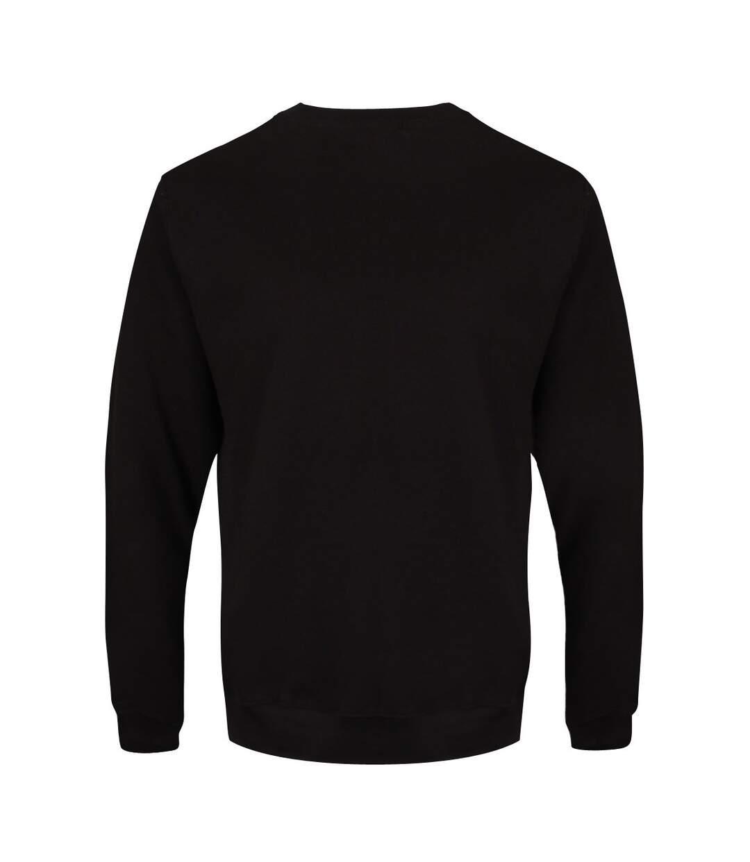 Grindstore Mens Satan Cross Sweatshirt (Black) - UTGR3284