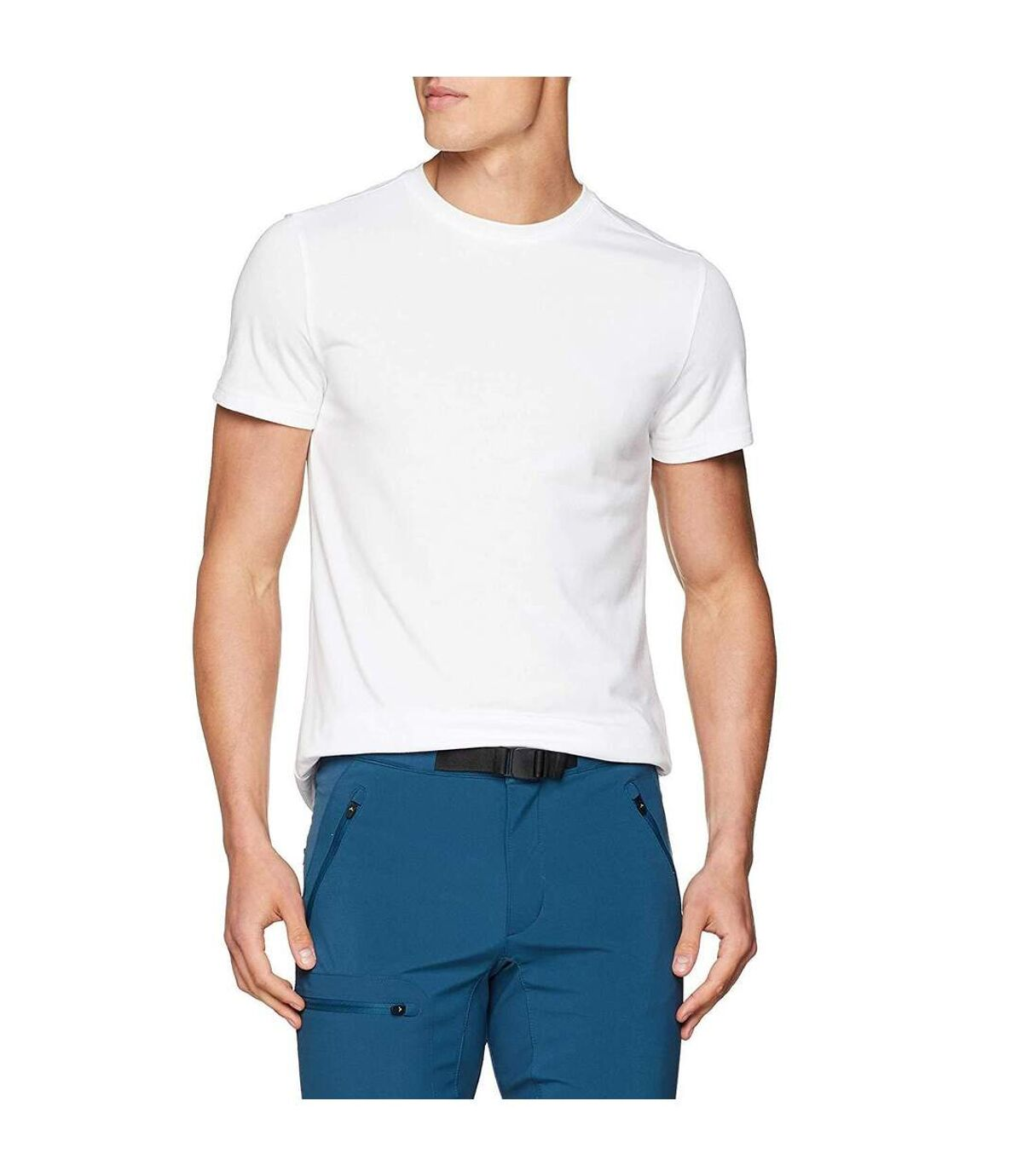 Craghoppers Mens First Layer Short Sleeve T-shirt (Optic White) - UTCG985