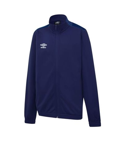 Umbro Mens Knitted Jacket (Navy/Dark Navy) - UTGD101
