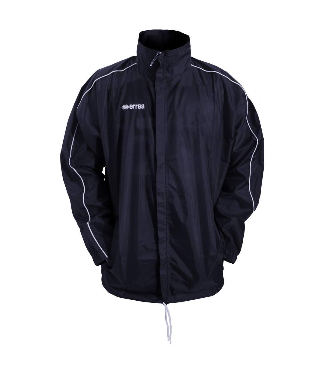 Errea Mens Basic Training Football Sport Jacket (Blue) - UTPC259