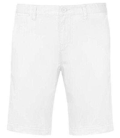Bermuda chino homme - K750 - blanc