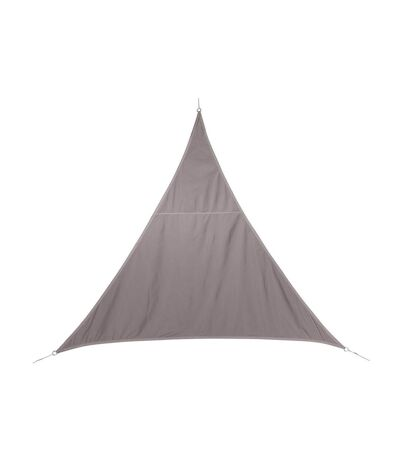 Voile d'ombrage triangulaire Curacao - 3 x 3 x 3 m - Taupe