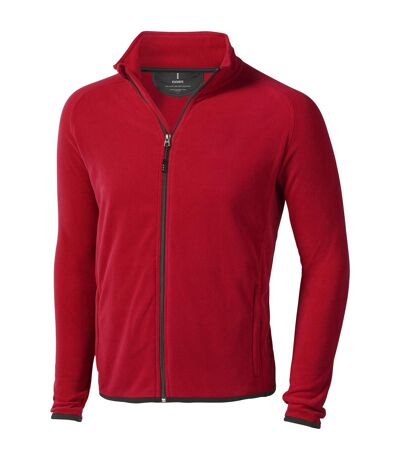 Elevate Mens Brossard Micro Fleece (Red) - UTPF1944