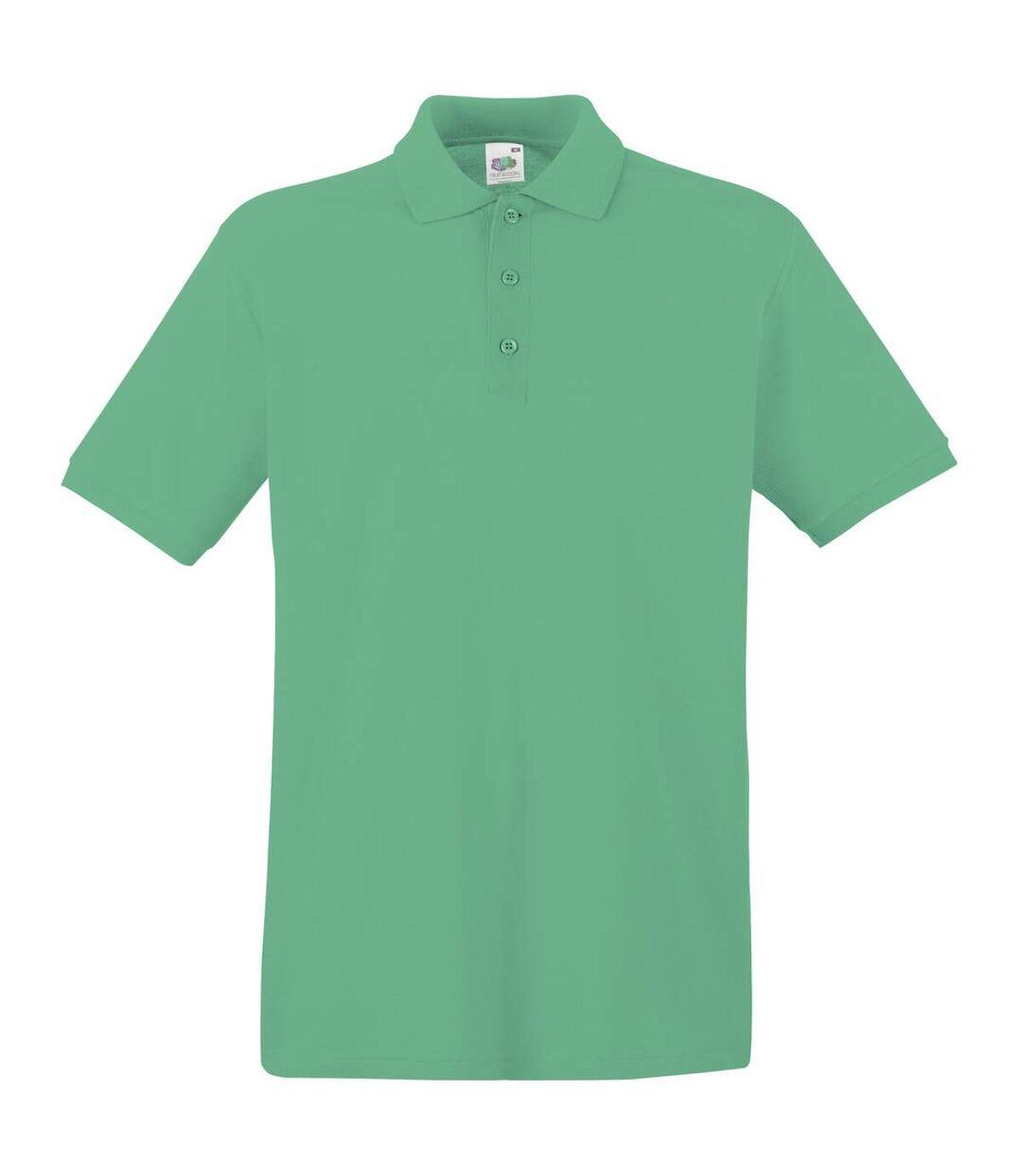 Fruit Of The Loom Premium Mens Short Sleeve Polo Shirt (Orange) - UTBC1381