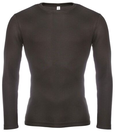 Maillot de corps manches longues homme WK801 - noir
