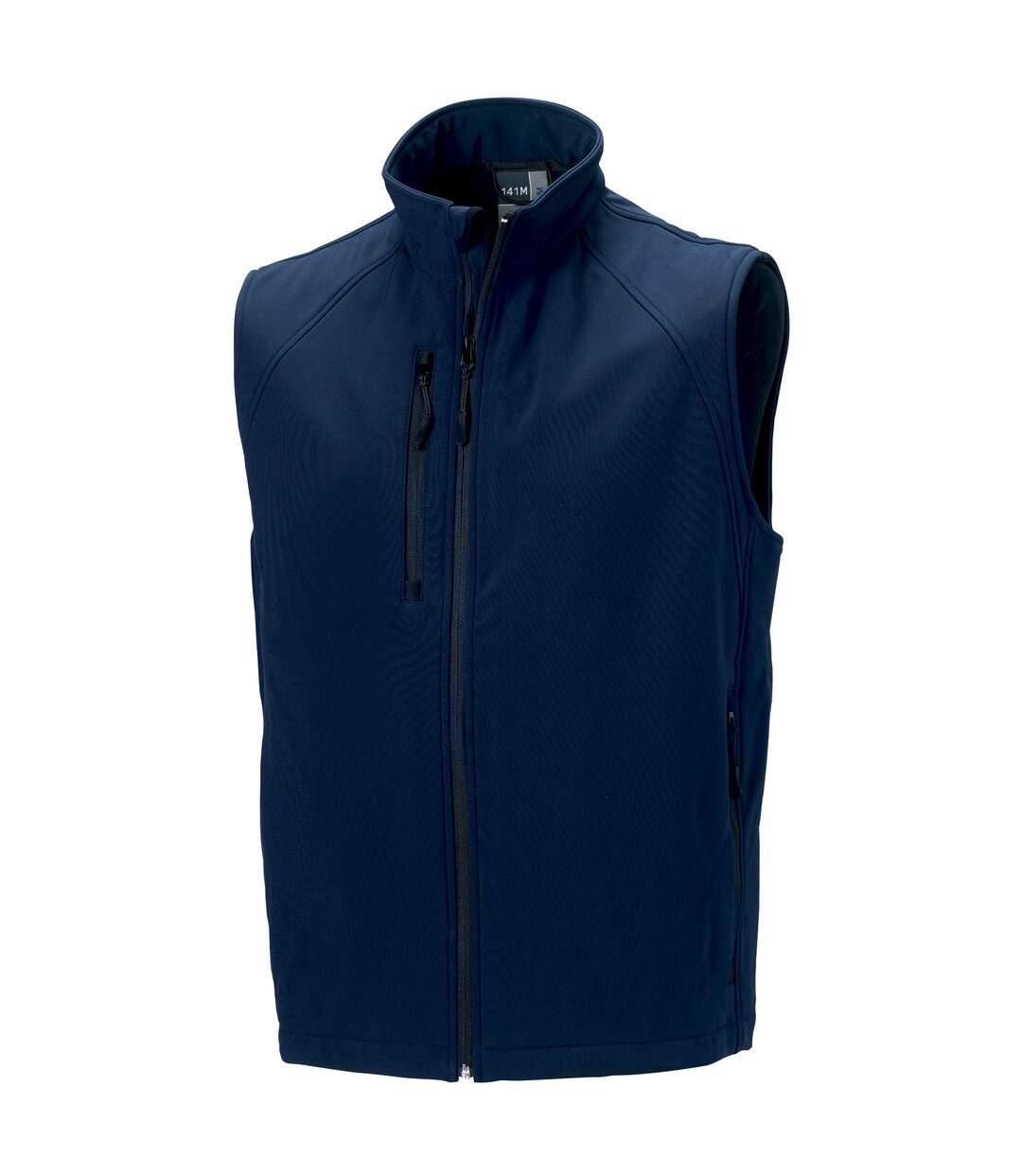 Russell - Veste Sans Manches En Softshell - Homme (Bleu marine) - UTBC1513