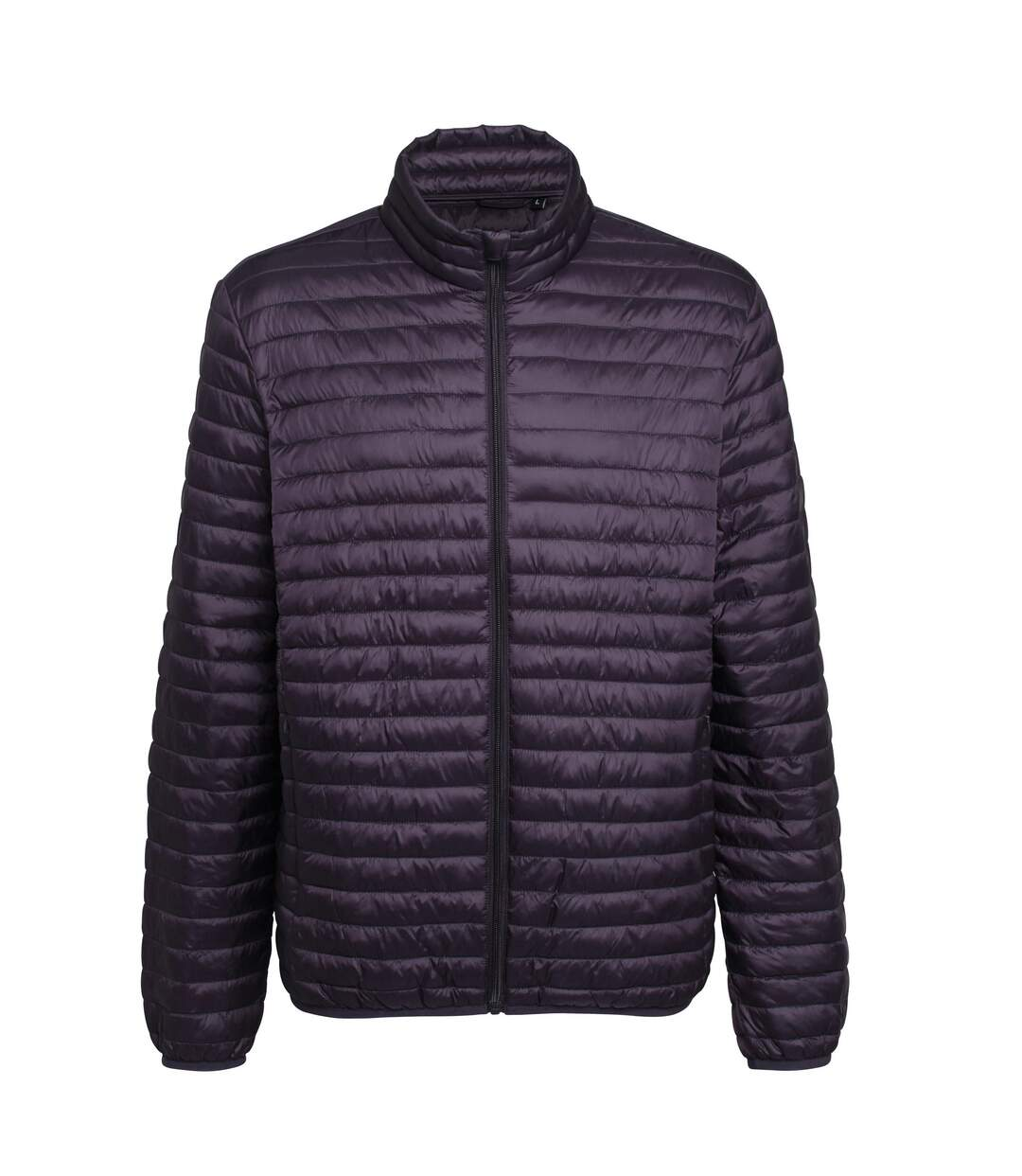2786 Mens Tribe Fineline Padded Jacket (Aubergine) - UTRW3846