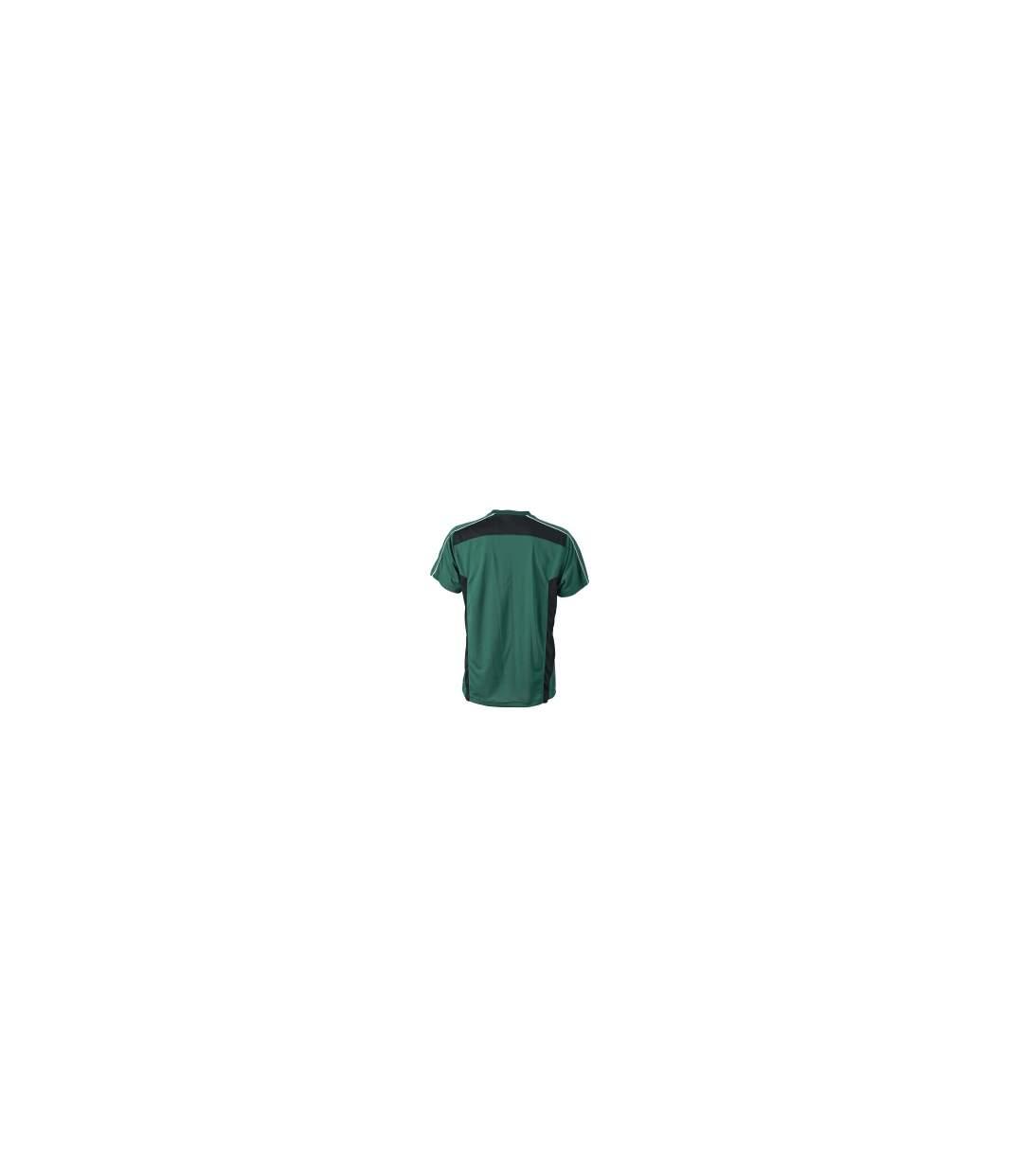 T-shirt artisan anti-bactérien anti-statique - JN827 - vert foncé