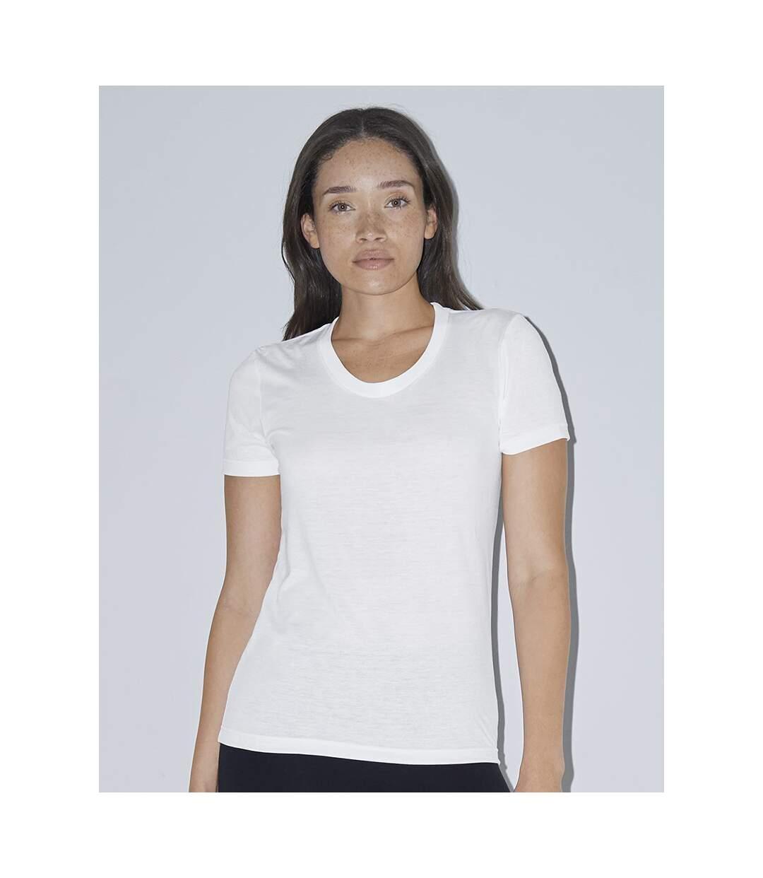 American Apparel - T-Shirt - Femme (Blanc) - UTBC4084