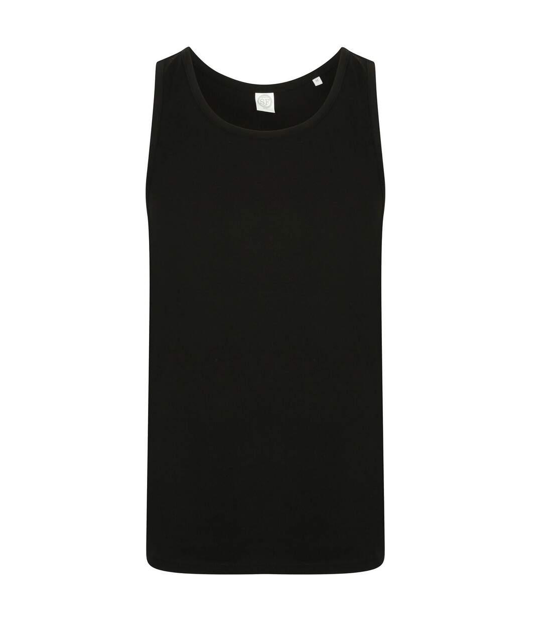 SF Mens Feel Good Stretch Vest (Black) - UTPC3020