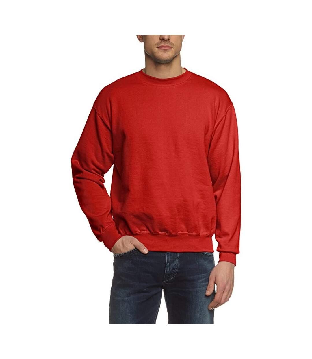 Fruit Of The Loom Unisex Premium 70/30 Set-In Sweatshirt (Red) - UTRW3159