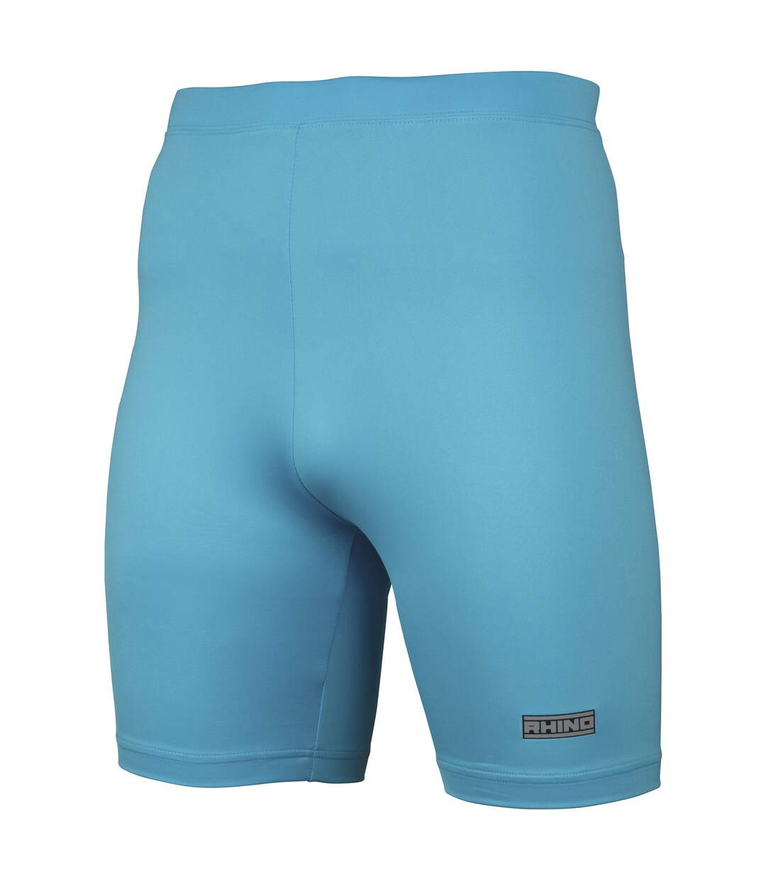 Rhino Mens Sports Base Layer Shorts (Light Blue) - UTRW1278