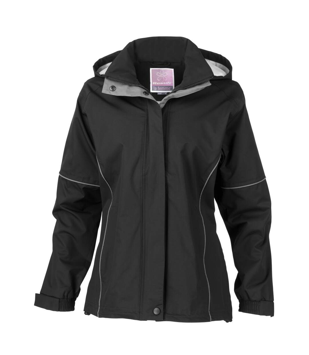 Result Womens/Ladies Urban Fell Lightweight Technical Jacket (Waterproof & Windproof) (Black) - UTBC3049