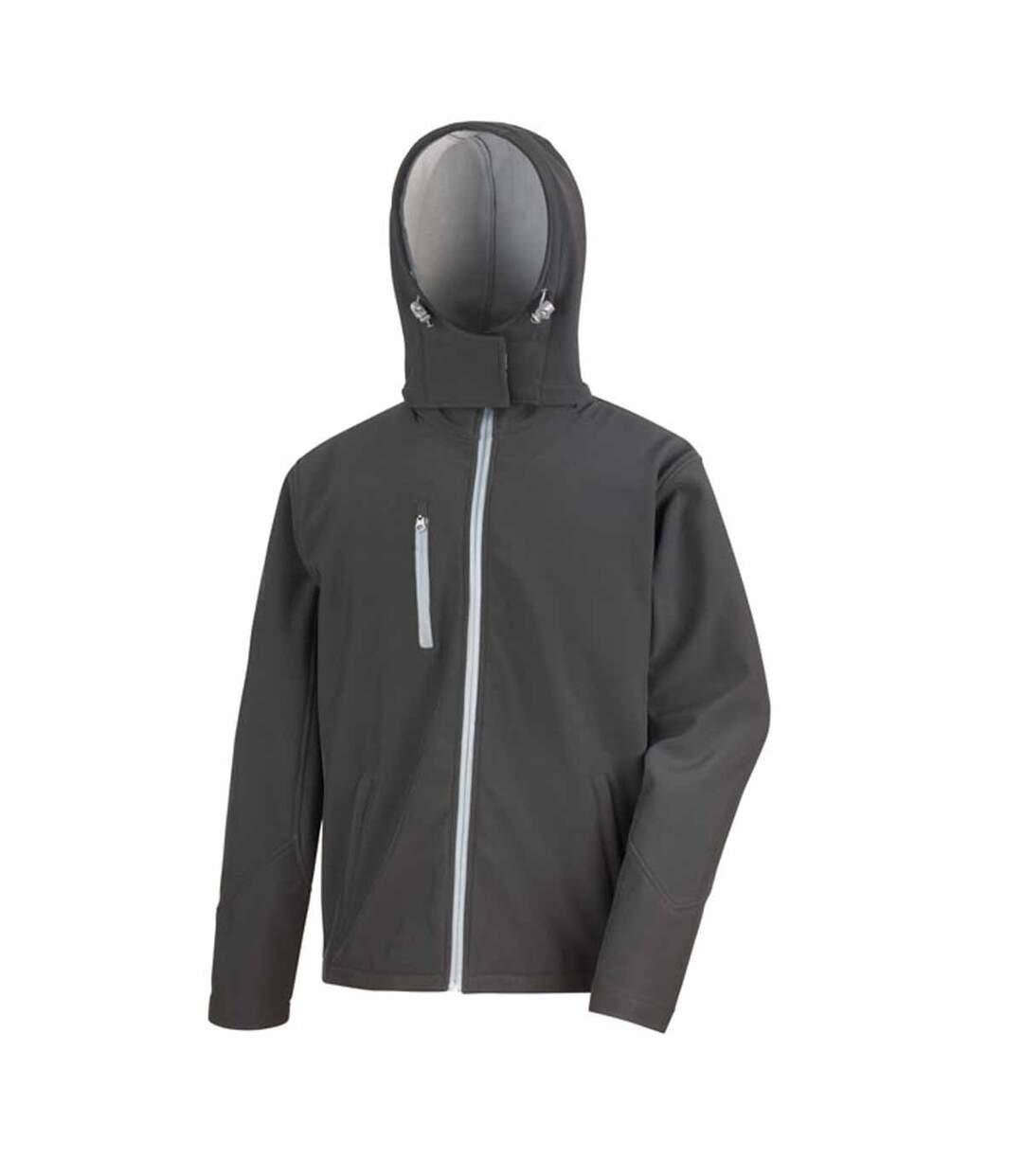 Veste softshell performance - R230M - Homme - noir