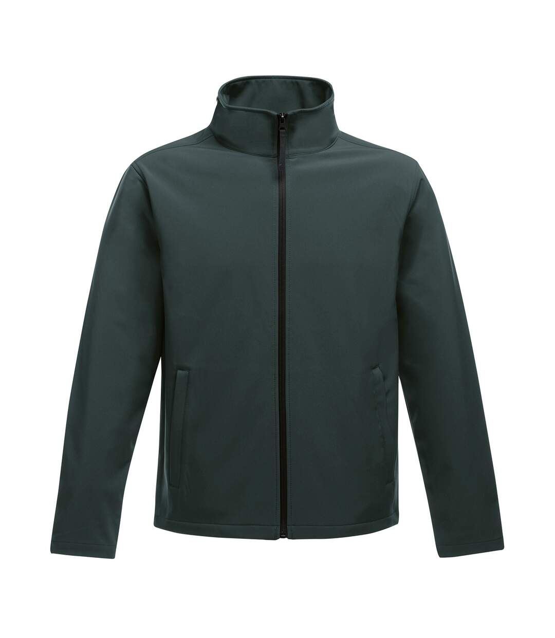 Regatta Standout Mens Ablaze Printable Softshell Jacket (Seal/Black) - UTRW6353