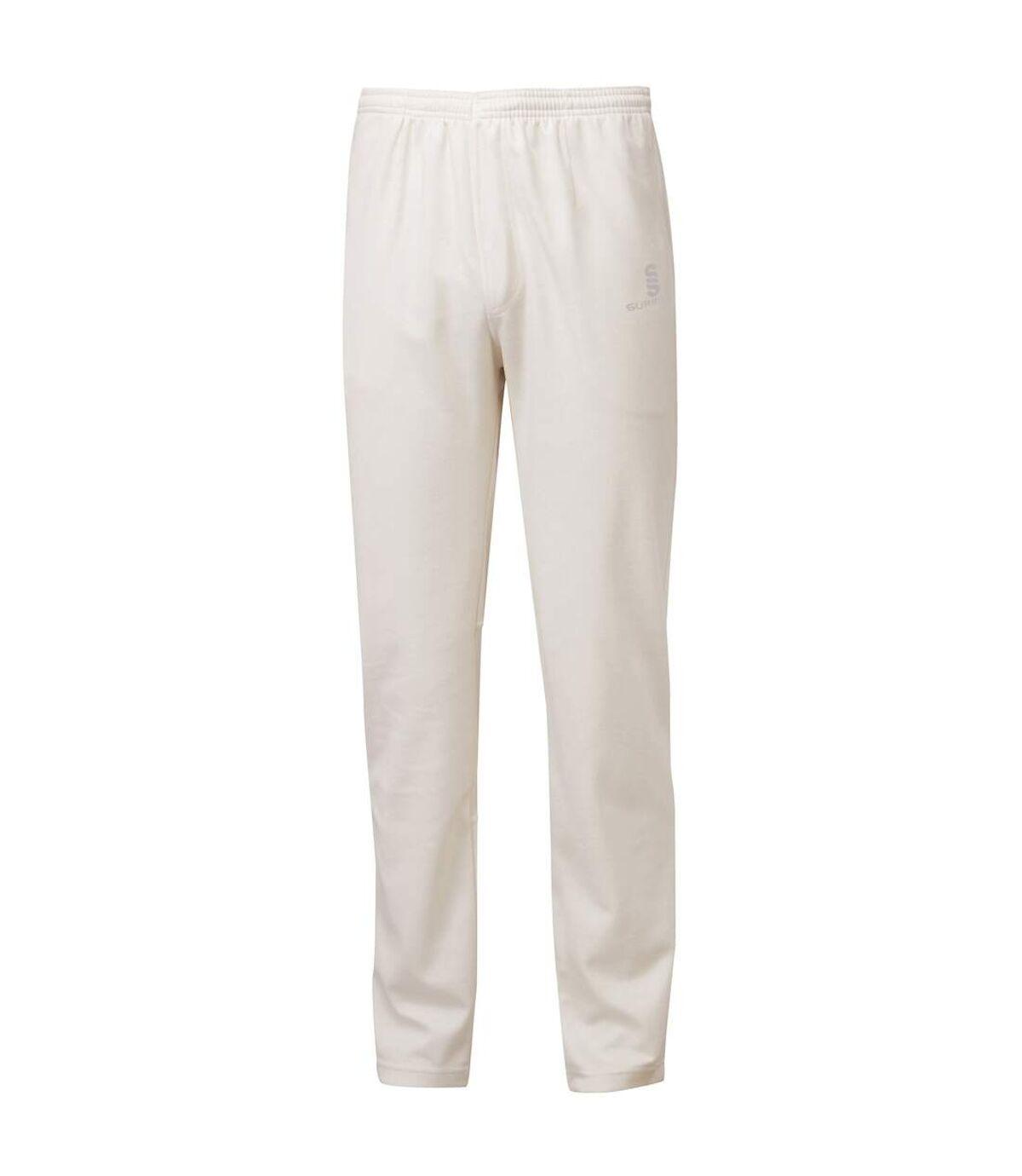 Surridge Mens Ergo Cricket Pants (Ivory) - UTRW5664