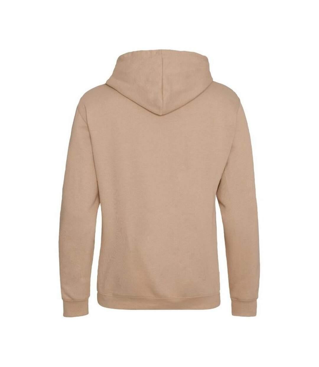 Awdis Varsity Hooded Sweatshirt / Hoodie (Burgundy/ Oxford Navy) - UTRW165