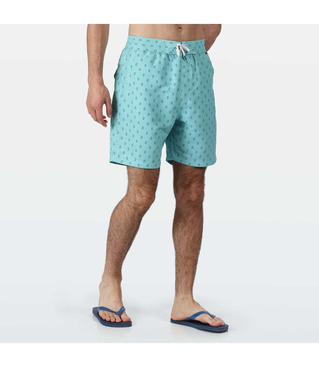 Regatta Mens Hadden II Quick Drying Board Shorts (Maui Blue) - UTRG4175