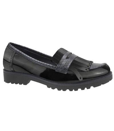 Cipriata Womens/Ladies Rosella Skirt Slip On Shoes (Black/Reptile) - UTDF1511
