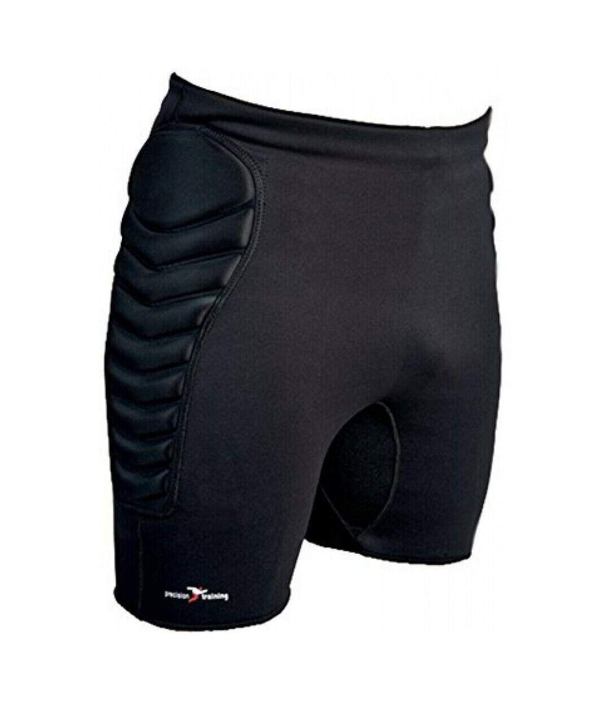 Precision Mens Neoprene Goalkeeping Shorts (Black) - UTRD312