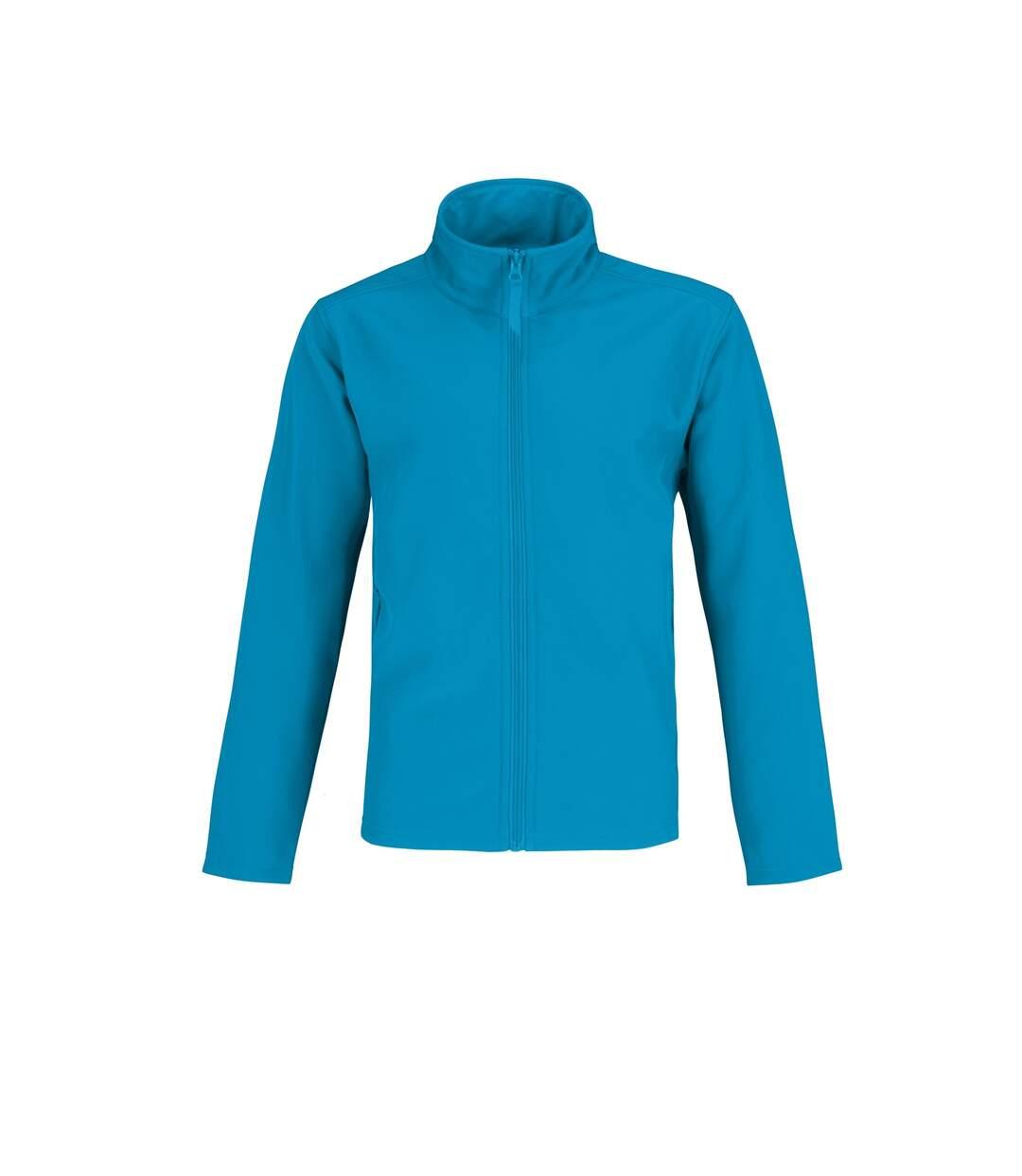 B&C Mens Two Layer Water Repellent Softshell Jacket (Atoll/ Attitude Grey) - UTRW4835